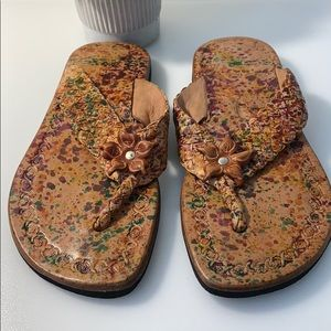 Shoes - Handmade Colorful Flip Flops